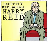 Secretly Replacing Harry Reid