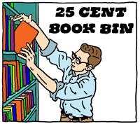 25 Cent Book Bin