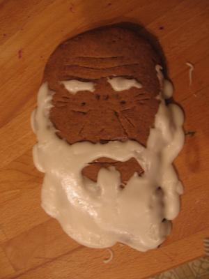 Gingerbread Darwin