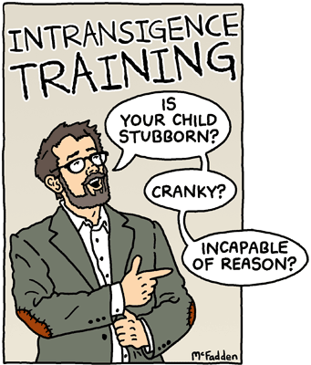 Intransigence Training