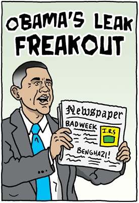 Obama's Leak Freakout
