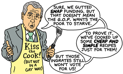 Republican Recipes for the Hungry